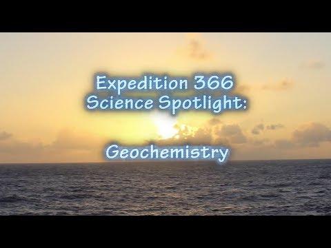 Expedition 366: Spotlight on Geochemistry