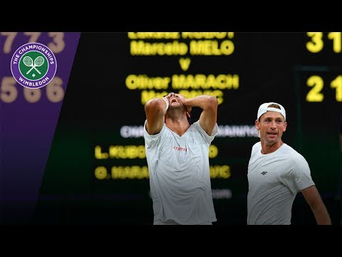 Kubot & Melo celebrate winning epic Wimbledon 2017 gentlemen's doubles final