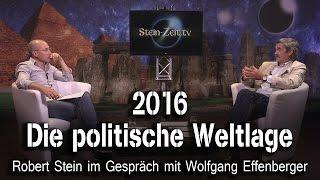 2016 - Die politische Weltlage - Wolfgang Effenberger bei SteinZeit