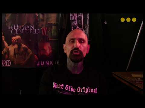 Ink Expo i Grå Hal, Christiania - interview with Robert Lasardo
