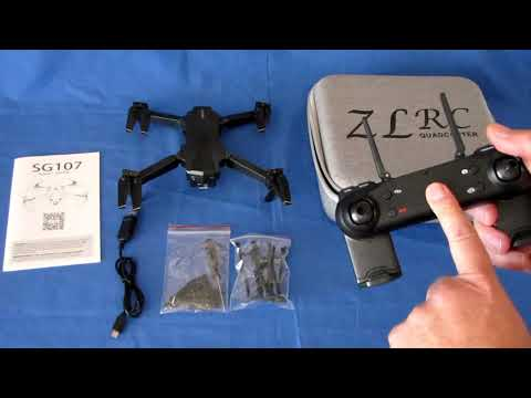 Фото ZLRC SG107 Beginners FPV Camera Drone Flight Test Review