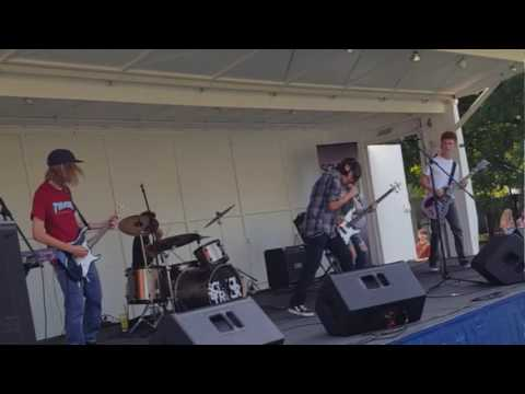 School Of Rock Naperville House Band - Fell In Love With A Girl @ Last Fling 9-3-16
