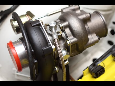 How to turbo BMW m50/m52 engine, part 3 - Turbo oil and coolant lines