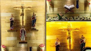 Modern Christian Prayer Room Design Youtube Puja room designs are taken a notch higher, with stunning jaali that adds to its beauty. modern christian prayer room design