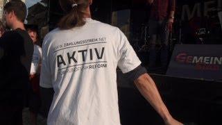 DNMK - DynaMike - 24.08.2013 - Auftritt Dresden Altmarkt - Gemein Sinn