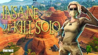 INSANE 21 KILL SOLO WIN!!! (Fortnite Battle Royale) NEW SCORPION SKIN