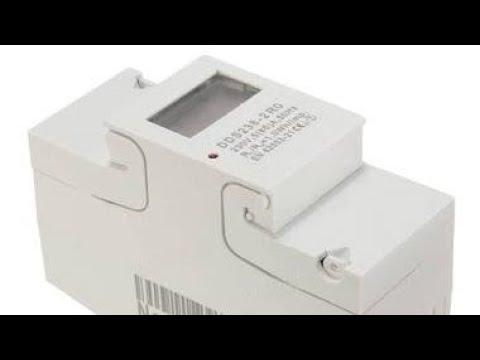 DDS238-2RO Digital 230V 5(65)A DIN-rail Kilowatt Hour Kwh Meter ...
