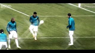 Cristiano Ronaldo   Freestyle Show   Real Madrid 2012 HD Moscow Warming up