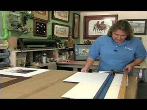 All About Picture Framing : How to Do the Second Mat of a Double-Mat ...