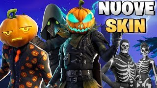 NUOVE SKIN HALLOWEEN & TANTO ALTRO! 🎃 Fortnite Battle Royale 🎃 Pazzox