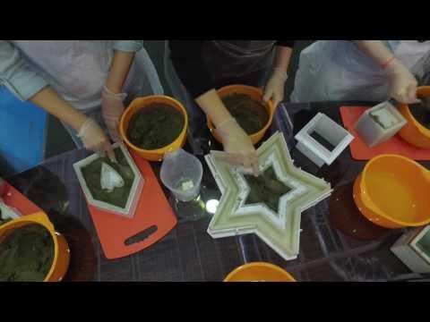 Мастер-класс по изготовлению предметов декора из бетона   Ар Нуво