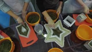 Мастер-класс по изготовлению предметов декора из бетона | Ар Нуво