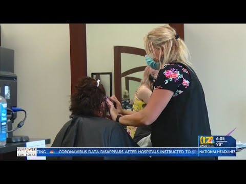 Salons, barber shops urge state to allow them to operate outside