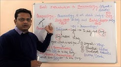 Basic Introduction to Pharmacology | Definition, and scope in General
