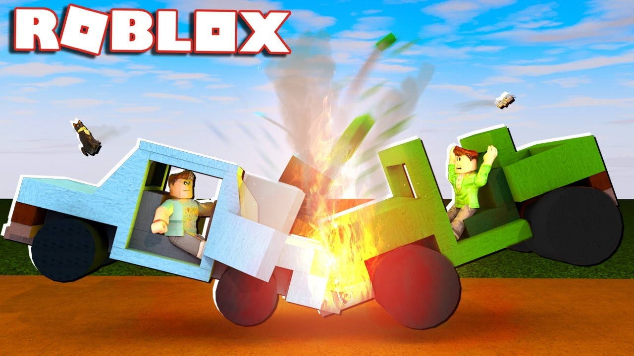 Roblox Adventures - BIGGEST CAR CRASH EVER IN ROBLOX! (Car ...