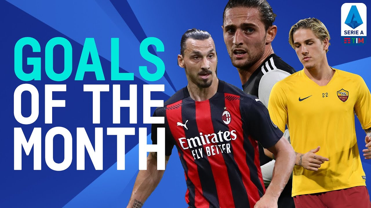 Ibrahimović, Rabiot, Chiesa, Zaniolo! | Goals Of The Month | July/August 2020 | Serie A TIM