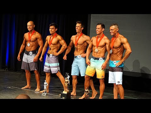 INBF CANADA 2017 - MENS PHYSIQUE - SHOW DAY