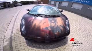 La Lamborghini cambia colore con l
