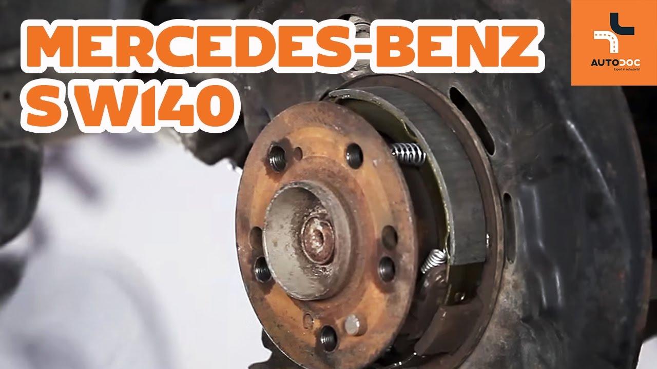 Feststellbremse 39715 für MERCEDES-BENZ FEBI BILSTEIN Bremsbackensatz