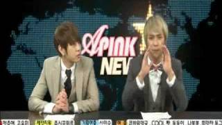 [eng] Beast Dongwoon and Junhyung cut A Pink News