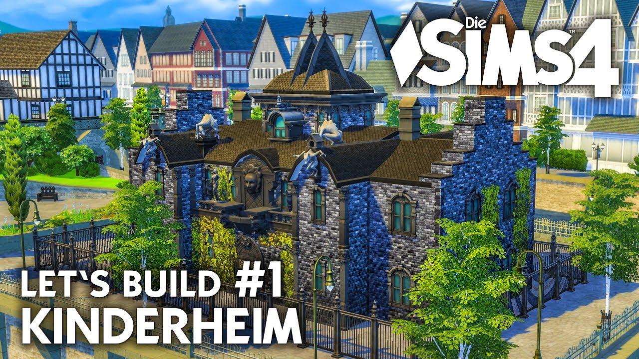 Kinderheim bauen die sims 4 let 39 s build 1 grundriss for Sims 4 dach bauen