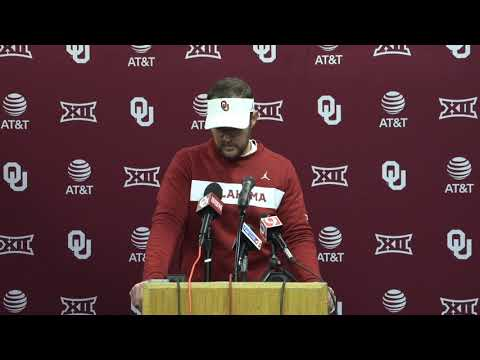 OU Football - Lincoln Riley on West Virginia