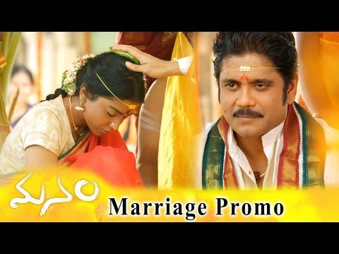 Manam Movie Marriage Promo || ANR, Nagarjuna & Shriya Saran
