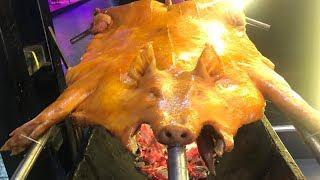 WHOLE PORK BBQ |  HONG KONG STREET FOOD | ROAST PORK | PIG BBQ
