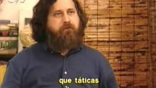 Richard Stallman no Globonews