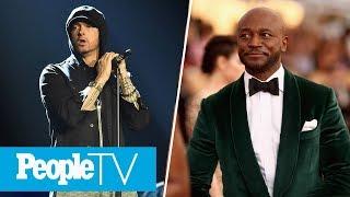Eminem Gets Slammed For Gunshot Sound Effects, Taye Diggs On New Movie 'Set It Up' | PeopleTV