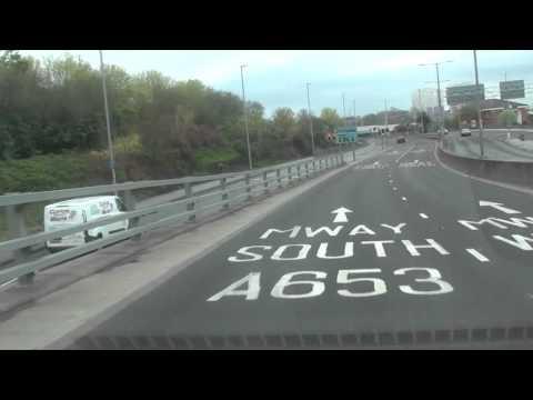 Another drive through Leeds City Centre