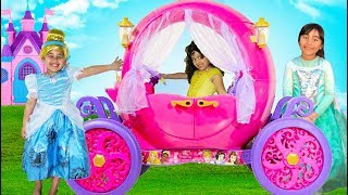 Disney Princess Carriage Ride On   Halloween Costumes and Toys