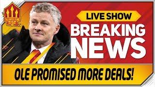 Solskjaer's 200 Million Transfer Promise! Man Utd Transfer News thumbnail