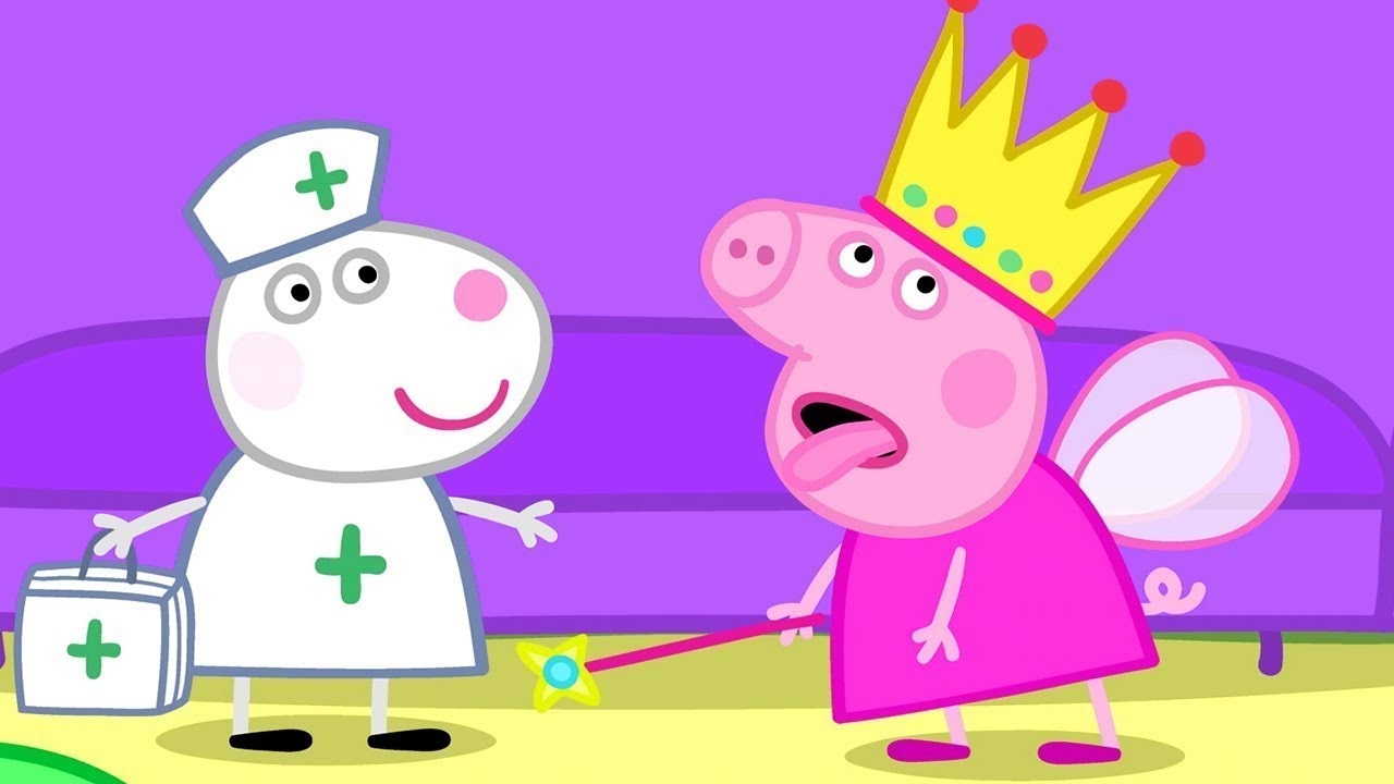 Peppa Pig English Episodes | Peppa's April Fools! 1 HOUR Speci Peppa Pig Official