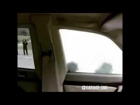 Покушение на экс-президента Грузии Шеварднадзе. Бронированный W140