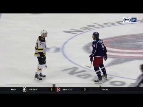 Matt Duchene breaks down Artemi Panarin's fight with Charlie McAvoy | BLUE JACKETS-BRUINS POSTGAME