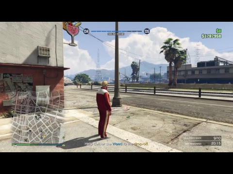 GTA 5 Online Growing my Nightclub and Weed Farm and helping people who need help or money on GTA