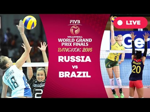 Russia v Brazil - Group 1: 2016 FIVB Volleyball World Grand Prix