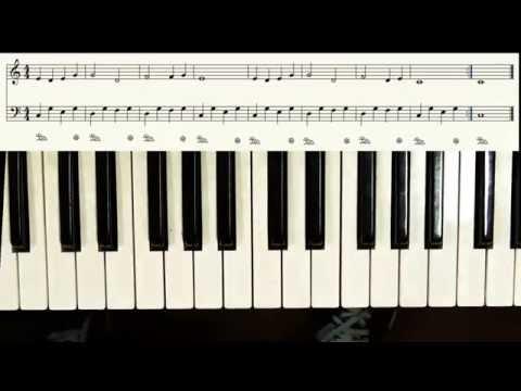 klavier spielen lernen lektion 6 tutorial in deutsch f r. Black Bedroom Furniture Sets. Home Design Ideas