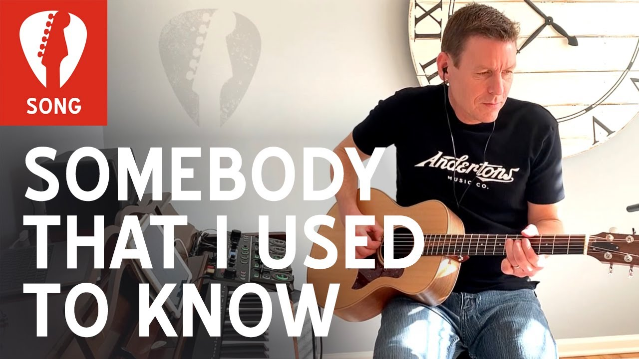Somebody That I Used to Know COVER, by Gotye - Boss RC-505 live looping with Taylor GS-Mini guitar