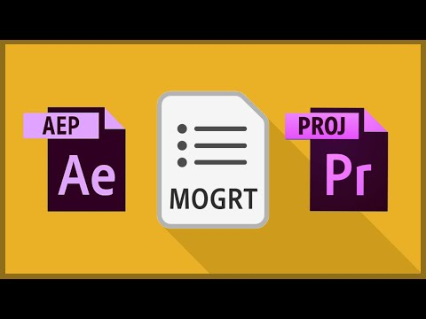 How to Create a Motion Graphic Template in After Effects CC 2020