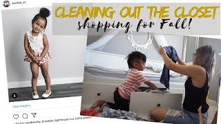 CLEANING OUT OUR CLOSET⎮FALL BUDGET SHOPPING FOR THE FAMILY VLOG⎮BALLAN IN STYLE
