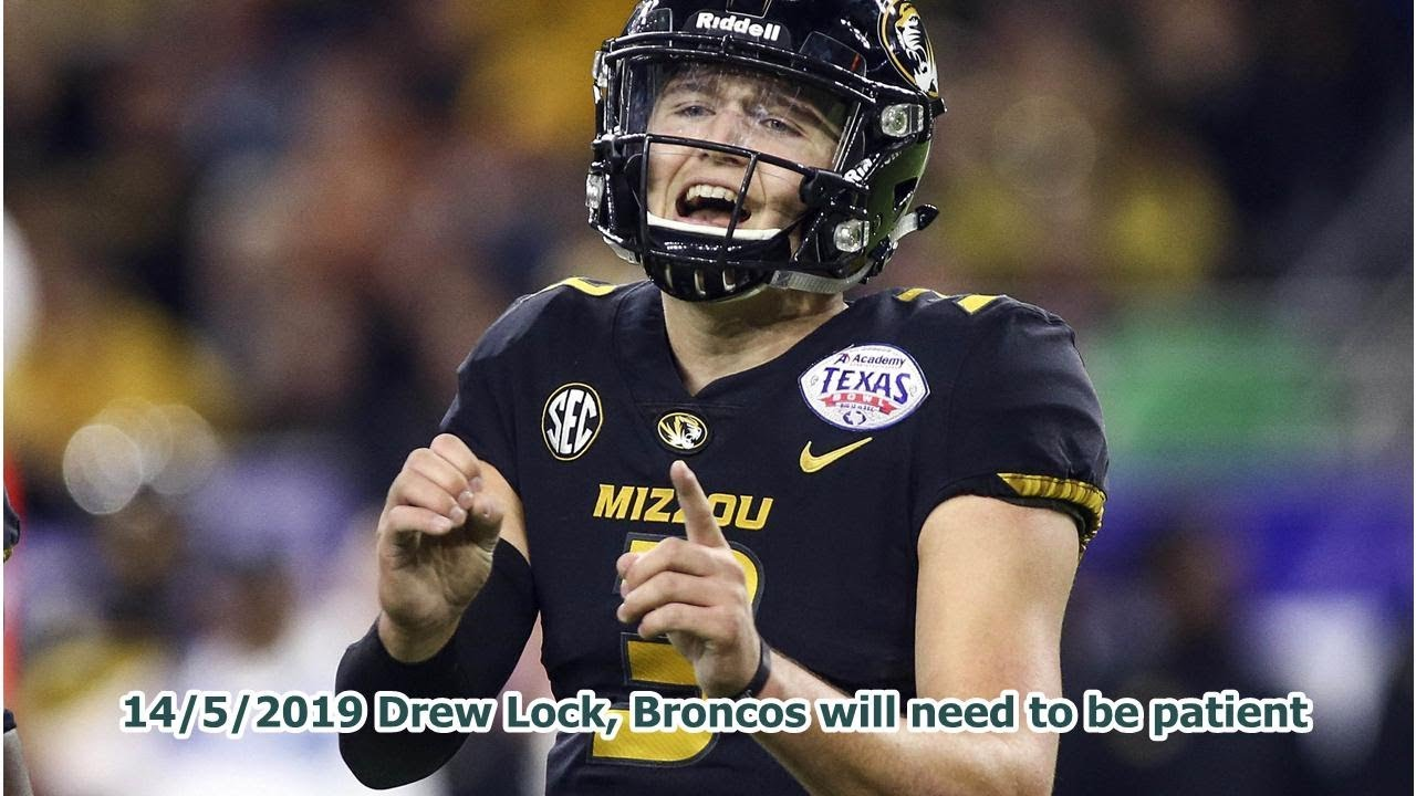 Patience, please: Broncos QB Drew Lock needs time to develop