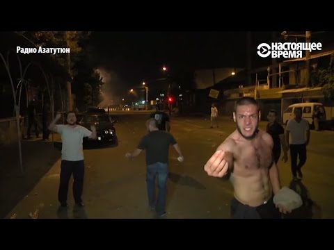 Кровь в Ереване: захват заложников, протесты, молчание президента