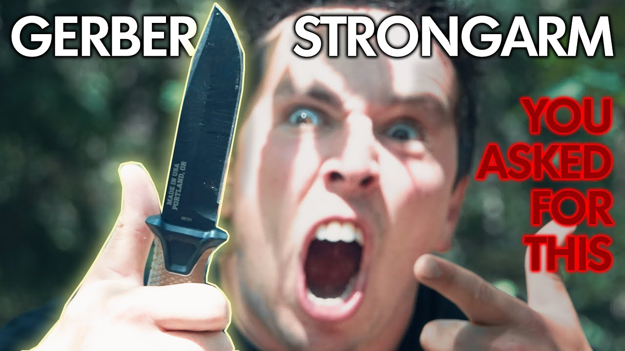 This is The MOST Requested Knife..ever   Gerber Strongarm
