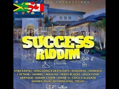 SUCCESS RIDDIM MIX FT. VYBZ KARTEL, DEMARCO, SHANE O, JAHMIEL & MORE {DJ SUPARIFIC}