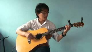 Phool ko Aankhama (Guitar Fingerstyle melody) by Mantosh Limbu (pandak)