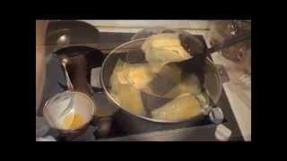 Тухум-барак (яичные пельмени). Egg pel'menis