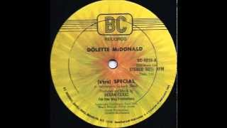 Dolette McDonald - Xtra Special (1982)