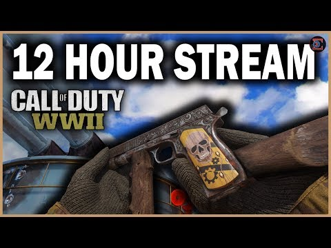 ROAD TO CHROME | 12 HOUR STREAM in Call of Duty: WW2 @100,000 = 24 HOUR STREAM